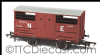 Oxford Rail 76CAT002B LNER Cattle Wagon E156266